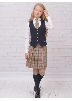 Школьная юбка Ломоносов (ШФ-1125)