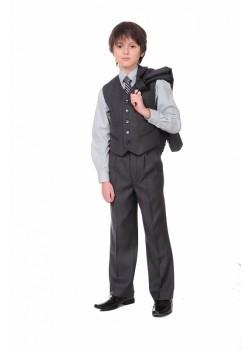 Брюки CLASSIC детские ШФ-413 Академик серый