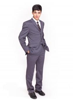 Пиджак д/м серый КМ 9646 SLIM
