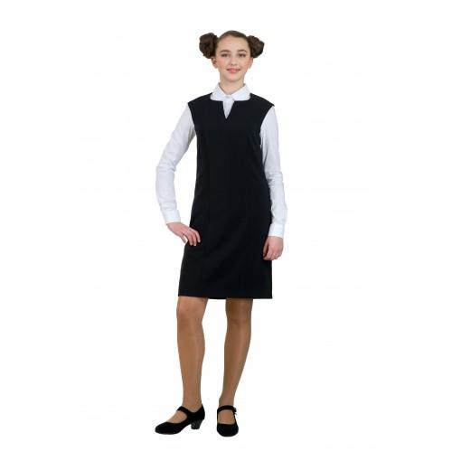 Сарафан Милано черный 15010