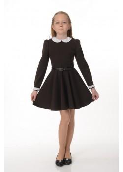Платье детское Шф816 Ностальжи коричневый
