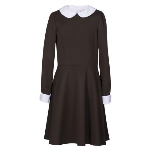 Платье детское Шф817 Ностальжи коричневый