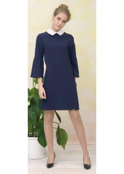Платье детское ШФ-1658 Ностальжи синий