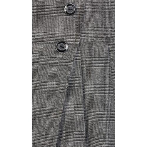 Юбка детская ШФ-1108 Оксфорд серый