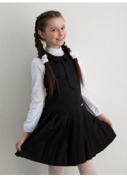 Сарафан детский Дипломат Шф-1418 черный